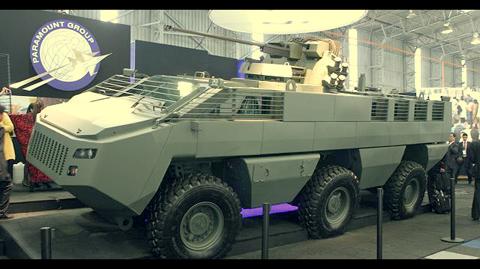 Презентация бронетранспортера Mbombe