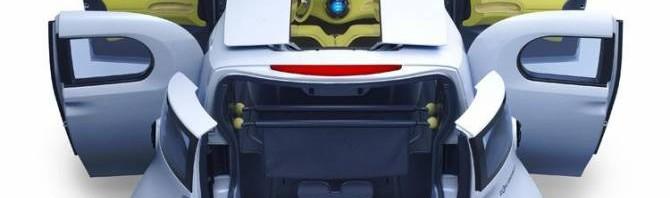 Компактный электромобиль Nissan Townpod