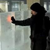 Nokia разработала первый в мире ледяной дисплей