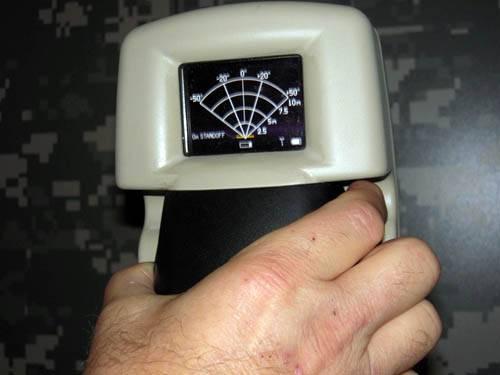 Прибор распознающий человека AN/PPS-26 STTW