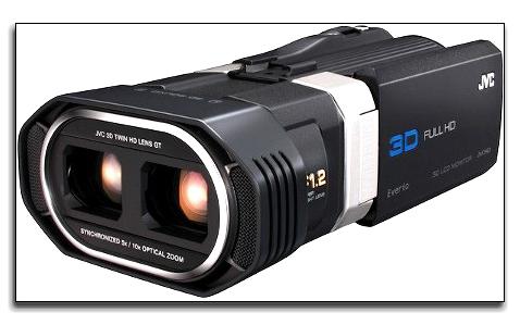 3D видеокамера JVC GS-TD1