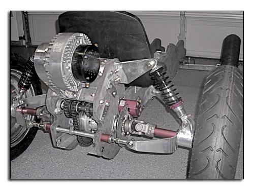 Электродвигатель электромобиля Z-Kart