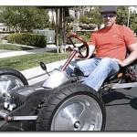 Самодельный калифорнийский электромобиль